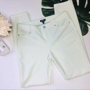 Worth New York Sz 4 Mint Stretch Skinny Jeans 965